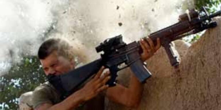 Taliban-Geschoss schlägt knapp neben Soldat ein