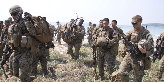 USA entsenden Marines nach Syrien