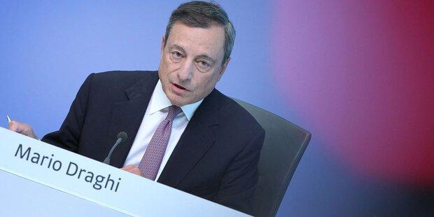 EZB-Chef weiter für massive Geldspritzen
