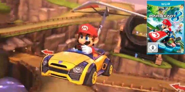 Mario Kart 8 für die Wii U ist endlich da