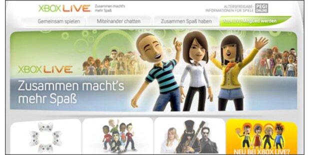 Xbox LIVE Marketplace mit neuen Features