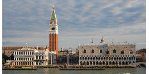 Markusturm in Venedig wird restauriert
