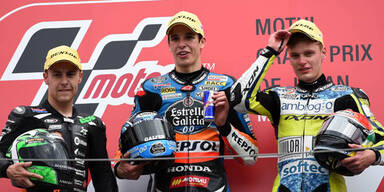 Marc Marquez verteidigte MotoGP-Titel