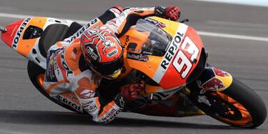 Marquez gewinnt MotoGP-Rennen in Argentinien