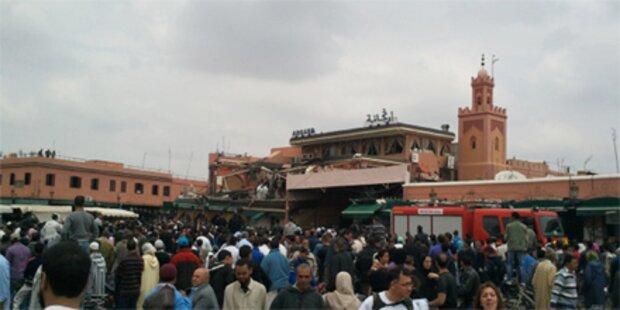 Drei Festnahmen nach Bombenanschlag