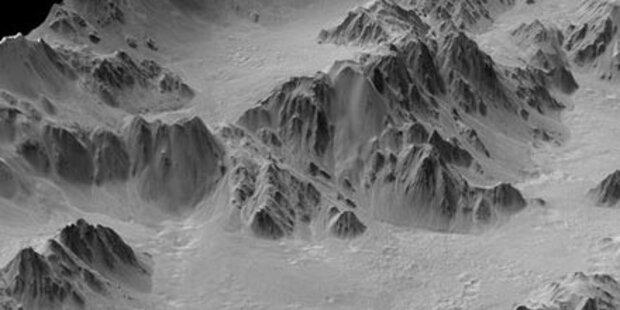 Sensations-Foto zeigt Alpen auf dem Mars