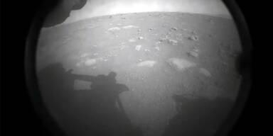 Das ist das erste Bild vom Mars