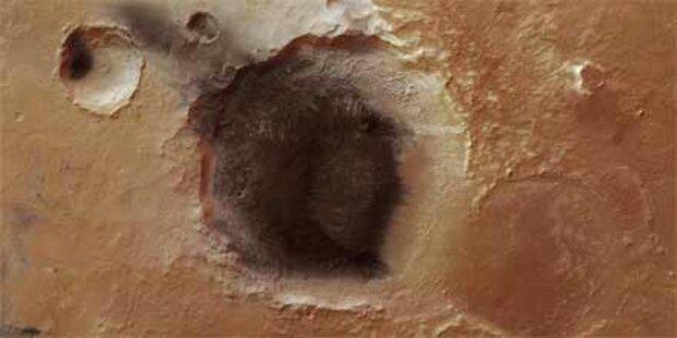 Vulkanasche auf dem Mars entdeckt