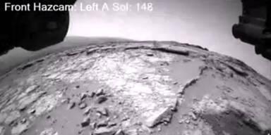 Zeitraffer-Video von Mars-Sonde Curiosity