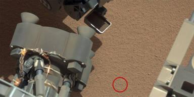 Mars-Rover entdeckte seltsames Objekt