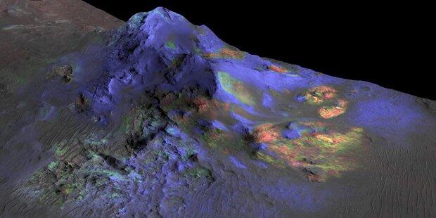 NASA-Sonde fand Glas auf dem Mars