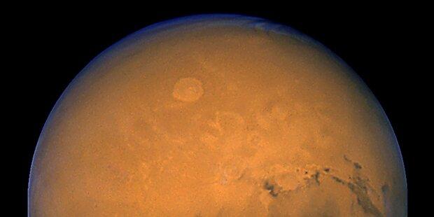 Lag Atlantis auf dem Mars?