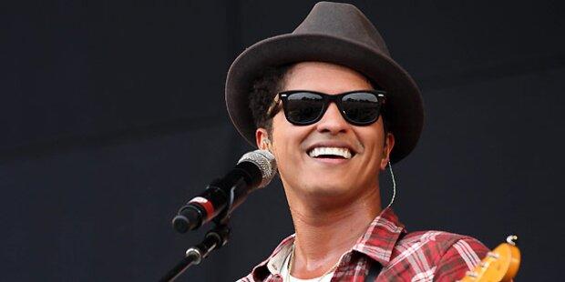Bruno Mars klagt eigenen Musikverlag