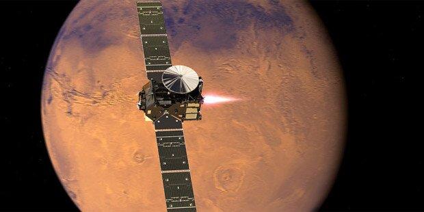 Nächste Phase für Mars-Reise angekündigt