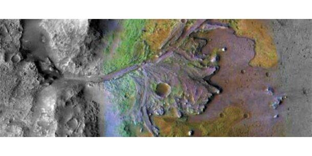 Wasser auf dem Mars entdeckt