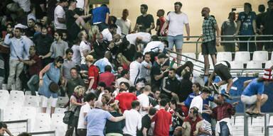 England Russland Krawalle