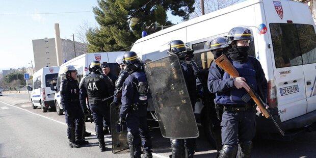 Marseille: Schüsse auf Polizisten