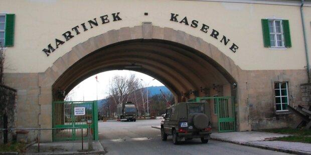 Asyl: Martinek-Kaserne ungeeignet