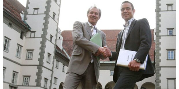ÖVP-BZÖ-Regierung in Kärnten fixiert