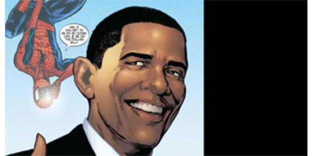 Obama tritt in Comic an der Seite Spidermans auf
