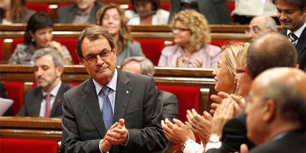 Spanien gegen Referendum in Katalonien