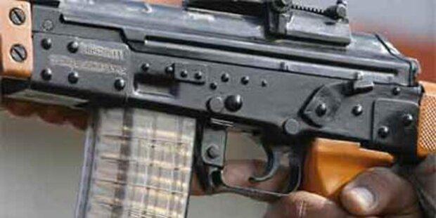 Erneut Schusswaffen in Salzburg gefunden.