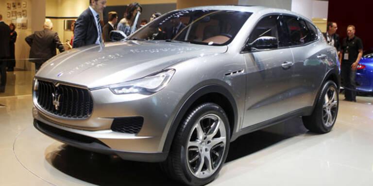 Maserati zeigt SUV-Studie Kubang