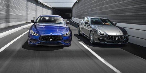 Maserati schickt