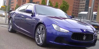 Video und neue Infos vom Maserati Ghibli