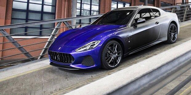 Maserati baute letzten GranTurismo