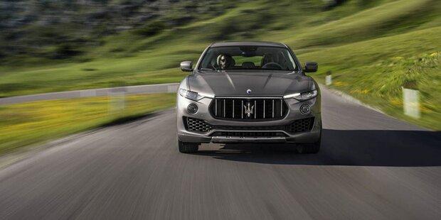 Maserati Levante mit neuem Einstiegsbenziner