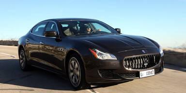 Maserati bringt den Quattroporte Diesel