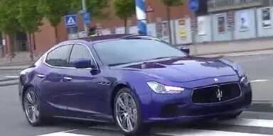 Brandneu: Maserati Ghibli in Aktion