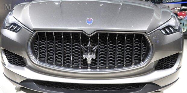 Bub macht Spritztour in Maserati