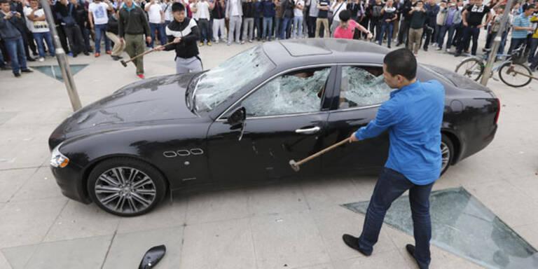 Chinese ließ Maserati zertrümmern