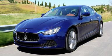 Facelift für den Maserati Ghibli