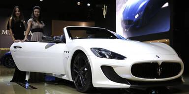 Maserati GranCabrio MC in Paris 2012