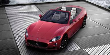 Maserati GranCabrio Sport in Genf 2011