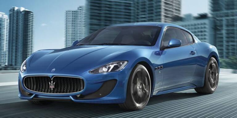 Startschuss für den Maserati GT Sport