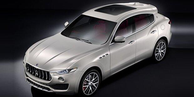 Maserati Levante greift Porsche Cayenne an
