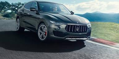 Jetzt startet der Maserati Levante