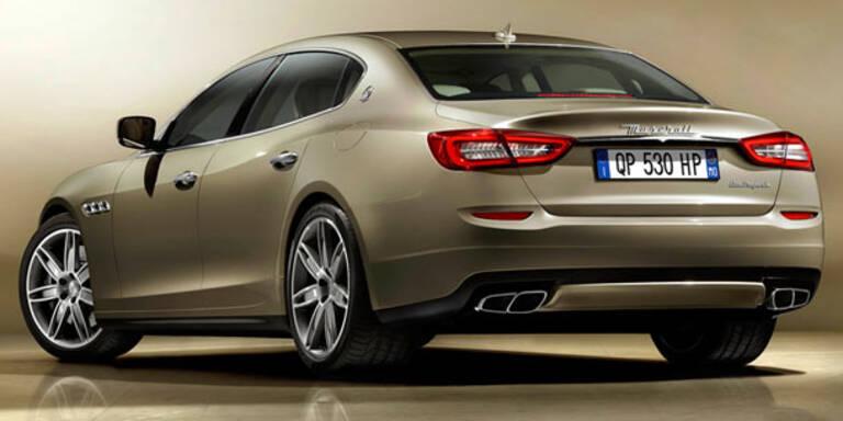 Alle Infos vom neuen Maserati Quattroporte