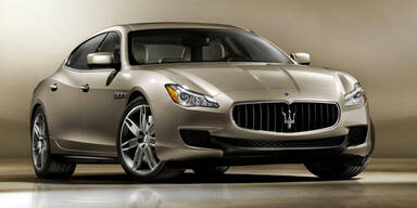 Maserati zeigt den neuen Quattroporte