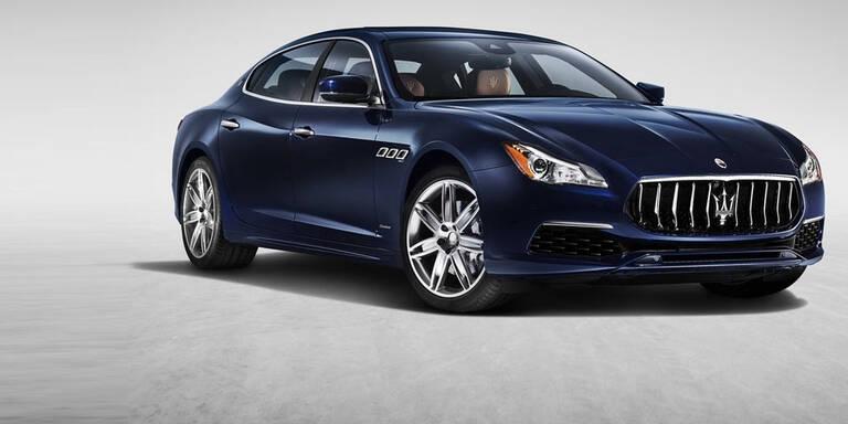 Facelift für den Maserati Quattroporte