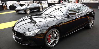 Maserati bläst voll zum Angriff