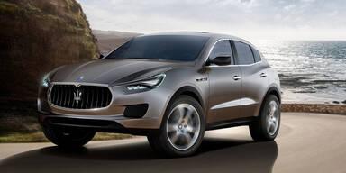 """Maserati bringt das SUV """"Levante"""""""