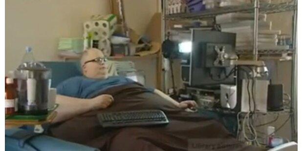 Dickster Mann der Welt wiegt 444 kg