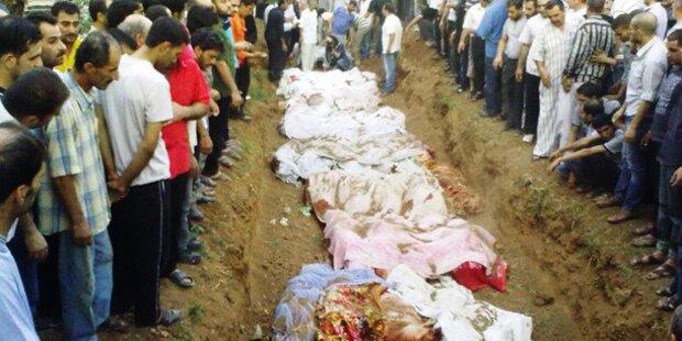 Wieder Massaker in Syrien
