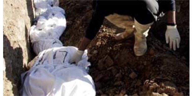 Massengrab mit 250 Leichen im Südirak entdeckt