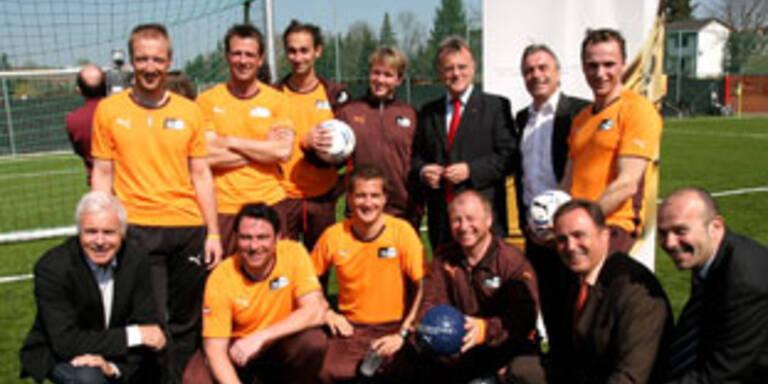 Kick-off für Krankls Match